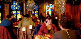 Medieval Feast beverages included