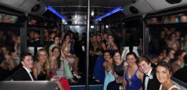 School Ball Party Bus Hire - Safe