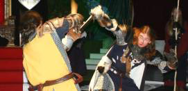 Medieval Feast entertainment