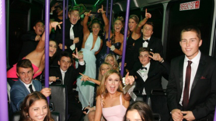 Party Bus School Ball