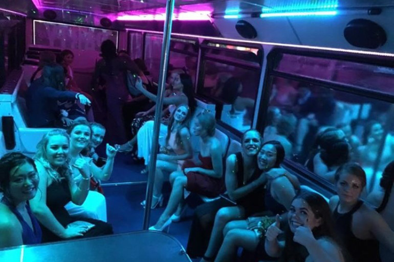 School Ball Party Bus Hire