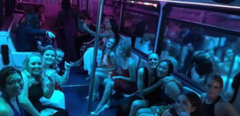 School Ball Party Bus Hire - Sound-System