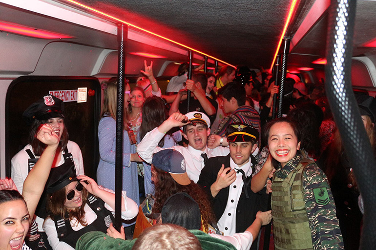 hire a party bus for your stag night