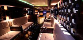 Party Bus Limo Coaches Lounge Seating