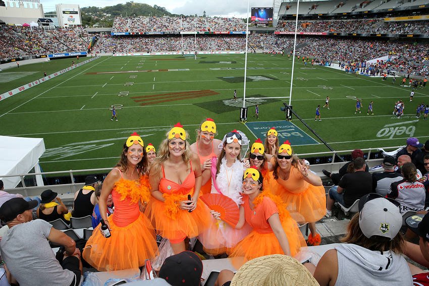 NRL Nines dress up
