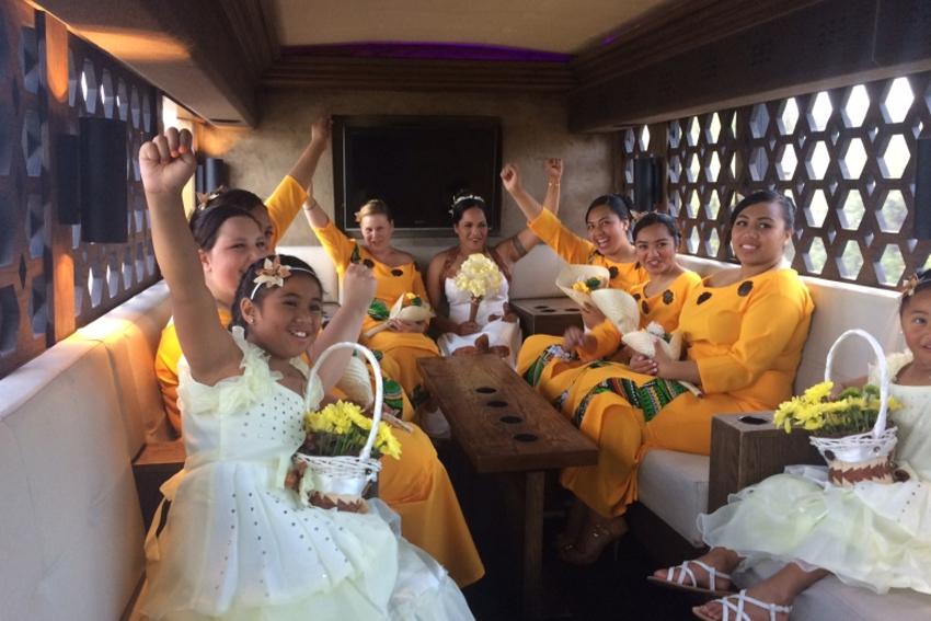 3 reasons to hire a party bus for wedding guest transportation