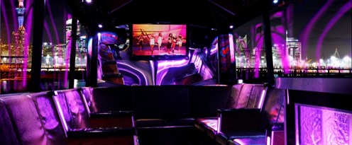Ultimate Party Bus Inside