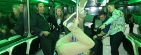 Hi Jinks On Party Bus