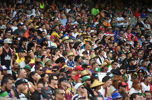 Auckland Nines crowd
